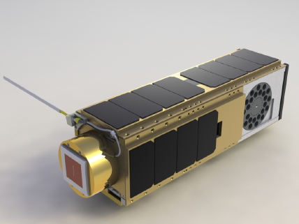 Artist rendering of the O/OREOS nanosatellite