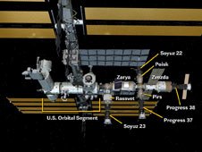 International Space Station Configuration (07/21/10)