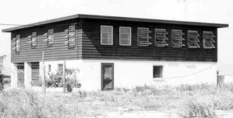 The house as it looked when it was purchased in the early 1960s.