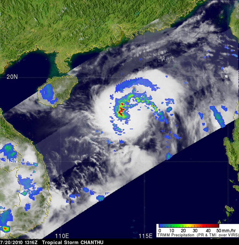 NASA - Hurricane Season 2010: Tropical Storm Chanthu ...