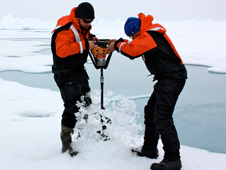 Drilling in the Ice