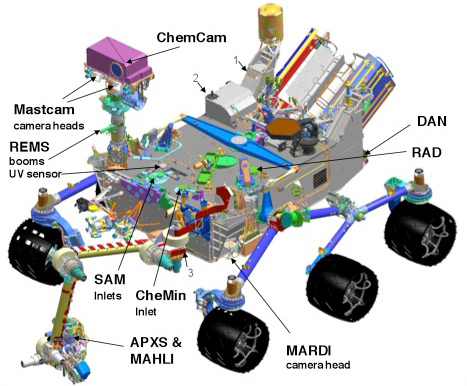 what was the design for the mars rover - photo #38