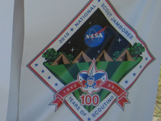 NASA at the Boy Scout Jamboree