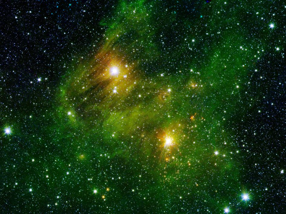 New 'GLIMPSE360' survey image from NASA's Spitzer Space Telescope.