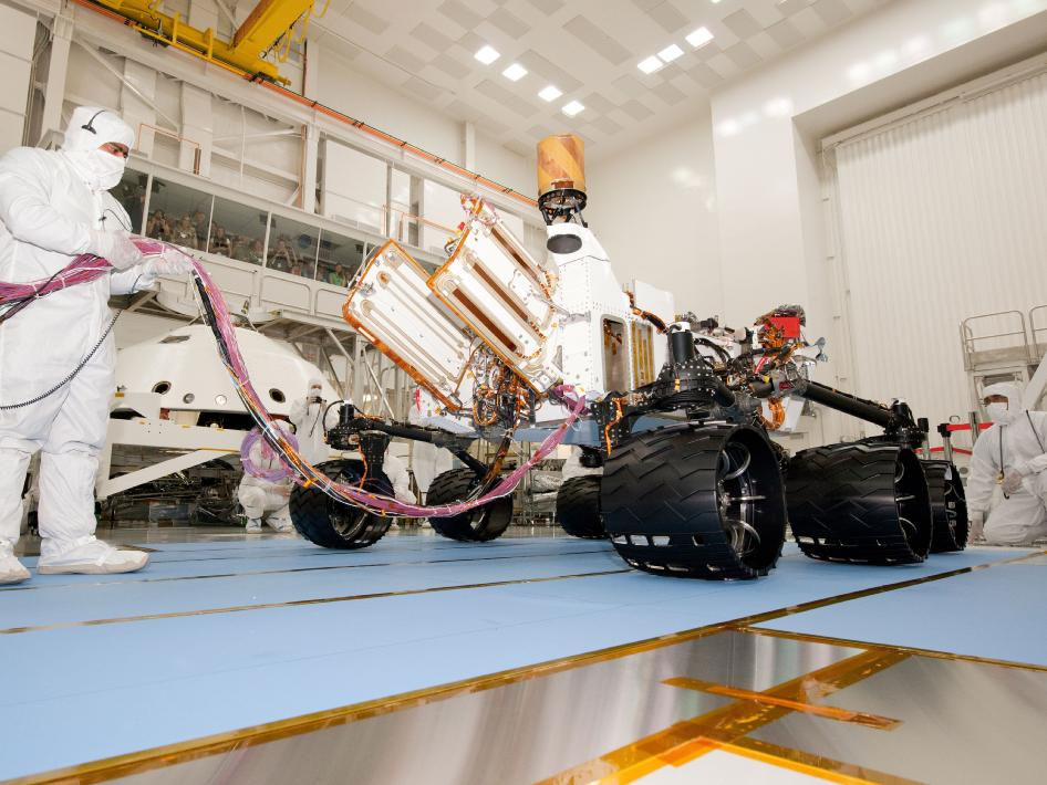 Next Mars Rover Starts Rolling