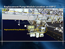 Replacement Pump Module Location on ESP-2