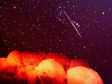 Perseids meteor shower, 1997