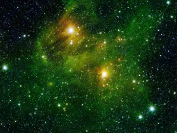 image from the Spitzer Space Telescope's GLIMPSE360 survey.