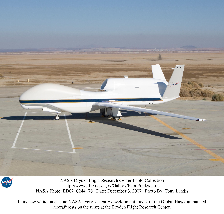 NASA - An Early Development Model of the Global Hawk ...
