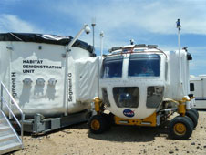 HDU docked with Space Exploration Vehicle