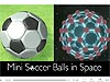 Soccer ball and a soccer-ball-shaped molecule