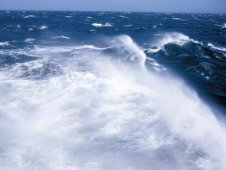Crashing waves in the deep ocean can generate enough energy to create a seismic hum.