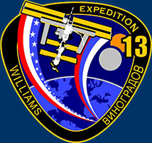 iss013s001 -- Expedition 13 crew insignia