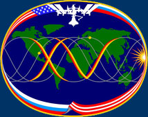 iss015s001d -- Expedition 15 crew insignia
