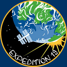 iss019s001 -- Expedition 19 insignia
