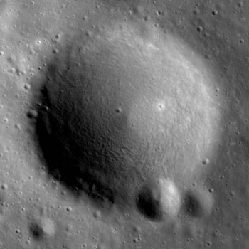 LRO image from August 12, 2010