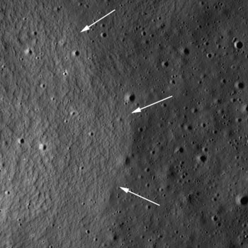 LRO image from August 03, 2010