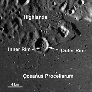 LRO image from August 04, 2010