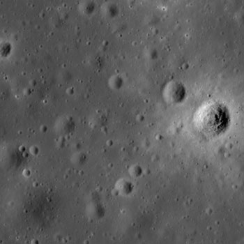 LRO image from August 05, 2010