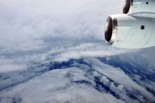 Hurricane Earl seen by the GRIP mission on August 30, 2010