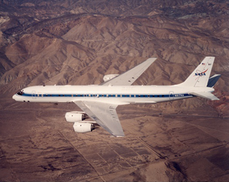 The DC-8 airborne research platform
