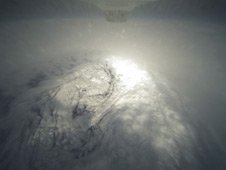Aerial view of Hurricane Earl