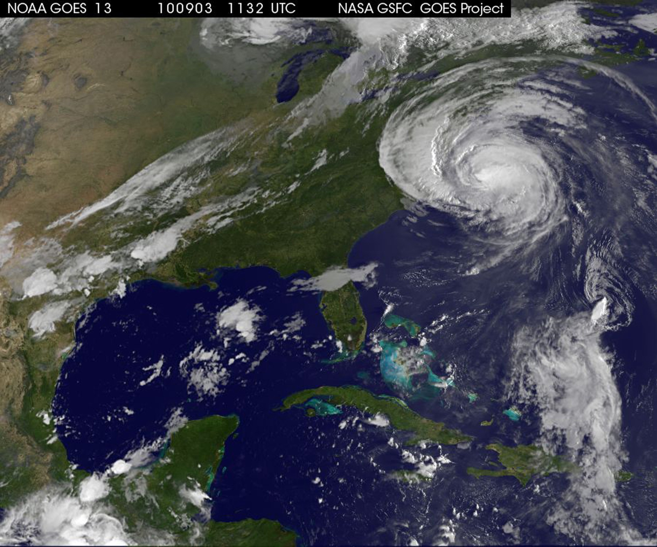 NASA - Hurricane Season 2010: Hurricane Earl (North ...