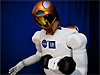 Robonaut 2 lifts a 20-pound weight