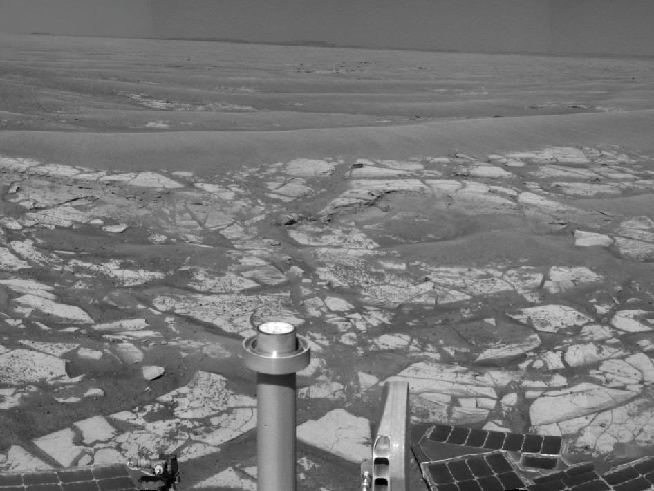 Panorama taken by NASA's Mars Exploration Rover Opportunity