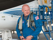 NASA astronaut Mark Kelly