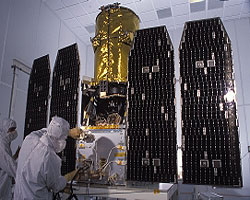 GALEX satellite in the laboratory