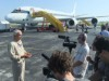 DC-8 pilot Dick Ewers spoke to the media in Ft. Lauderdale, Fla., last week about what it takes and what it's like to fly into the heart of a storm.