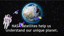 Did you know satellites help us understand our unique planet?