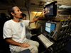 Jet Propulsion Laboratory researcher Simone Tanelli outlines the APR-2 Airborne Precipitation Radar aboard NASA's DC-8 airborne laboratory.