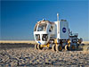 Space Exploration Vehicle in the Arizona desert
