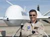 NASA unmanned aerial vehicle pilot Herman Posada. Image credit: NASA/Tony Landis.