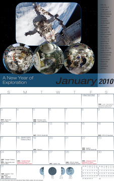 2010 International Space Station Calendar
