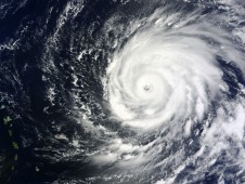This image of Hurricane Igor was captured from the MODIS Instrument that flies aboard NASA's Terra satellite.