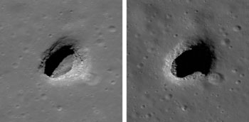LRO image from September 14, 2010