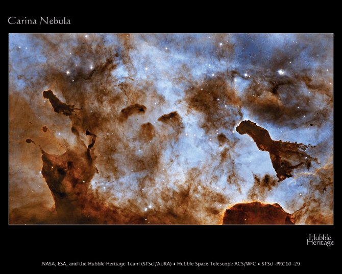 carina nebula ice sculptures - photo #13
