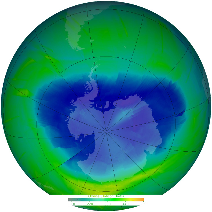 graphic of ozone