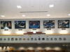 All five shuttle tributes are on display in Firing Room 4.