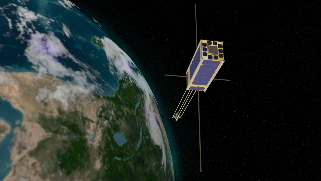 NASA - College Students Help Develop Small Satellite with ...