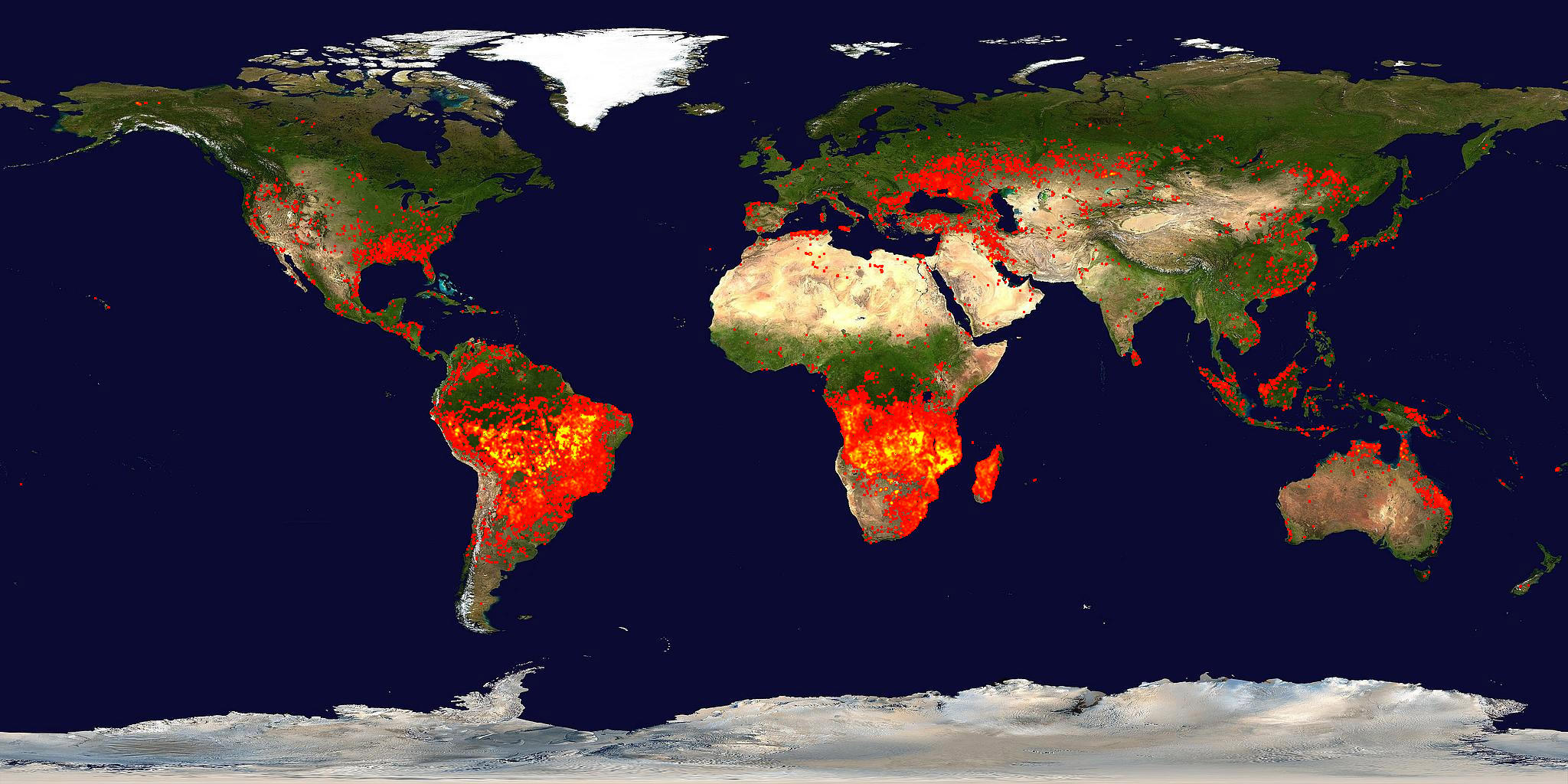 NASA Wildfires A Symptom Of Climate Change - Us wildfire map