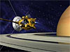 Artist's concept of Cassini spacecraft