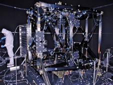 The ISIM structure for the James Webb Space Telescope