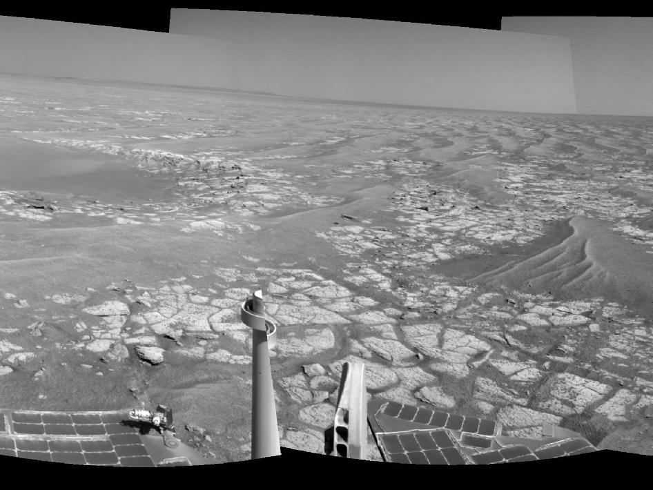 Opportunity's Surroundings After Sol 2363 Drive