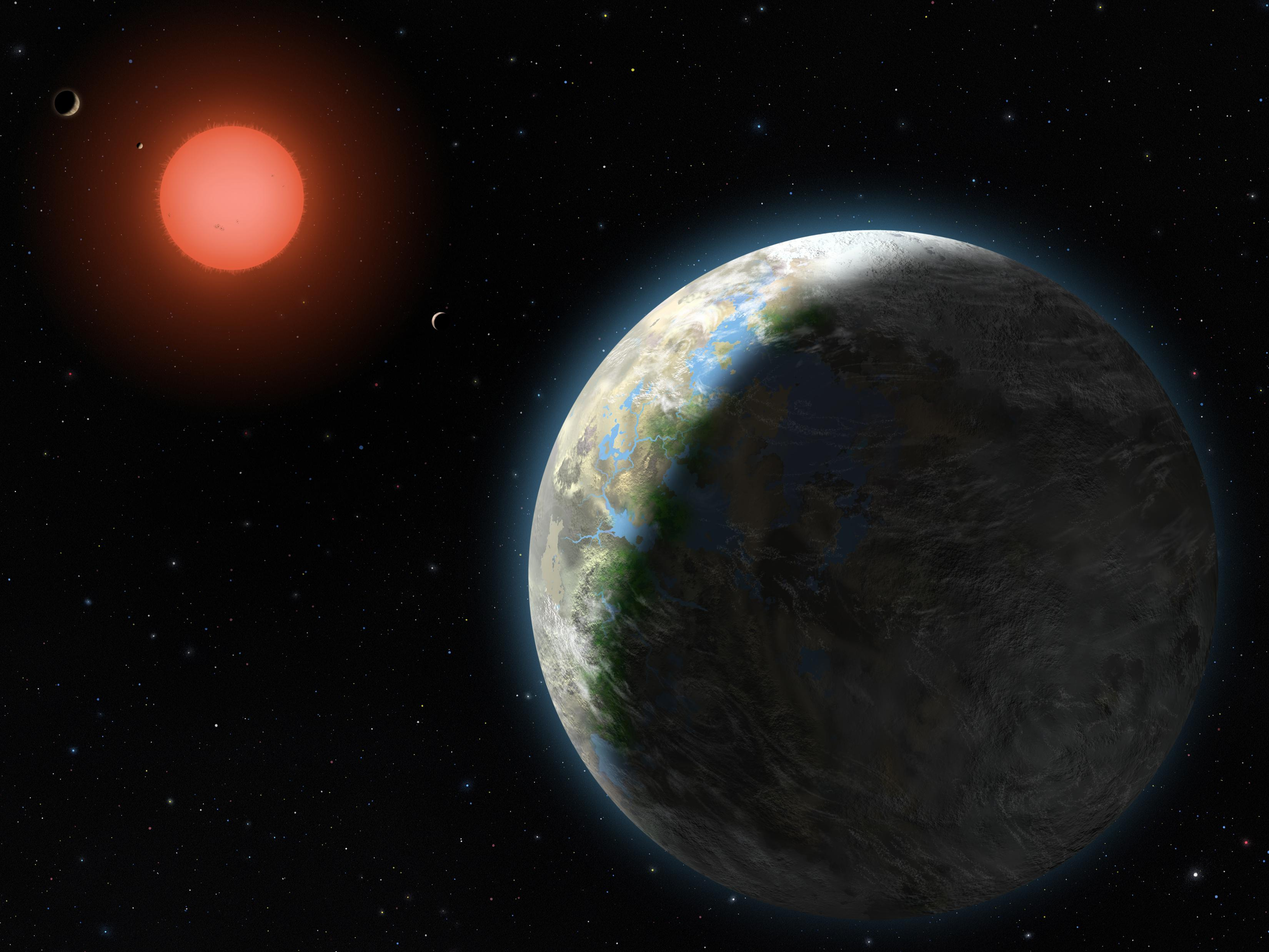 NASA - Planets of the Gliese 581 System