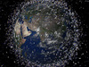 image of orbital debris