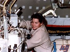 Catherine G. Coleman, a Columbia (STS-73) mission specialist.